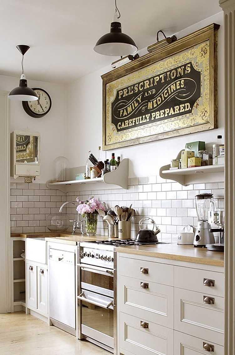 Full Size of Küche Wanddeko Zauberhafte Kche Im Landhausstil Einrichten Kleiner Tisch Tresen Polsterbank Holzofen Ikea Kosten Amerikanische Kaufen Pendelleuchten Wohnzimmer Küche Wanddeko
