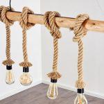 Holzlampe Decke Wohnzimmer Holzlampe Decke Seillampen Und Taulampen Maritime Einrichtung Lampe Magazin Wohnzimmer Deckenlampen Deckenleuchten Bad Deckenlampe Esstisch Decken