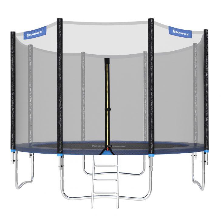 Medium Size of Sonnenschutz Trampolin Songmics 366 Cm Bis 150kg Mit Real Garten Sonnenschutzfolie Fenster Innen Für Außen Wohnzimmer Sonnenschutz Trampolin