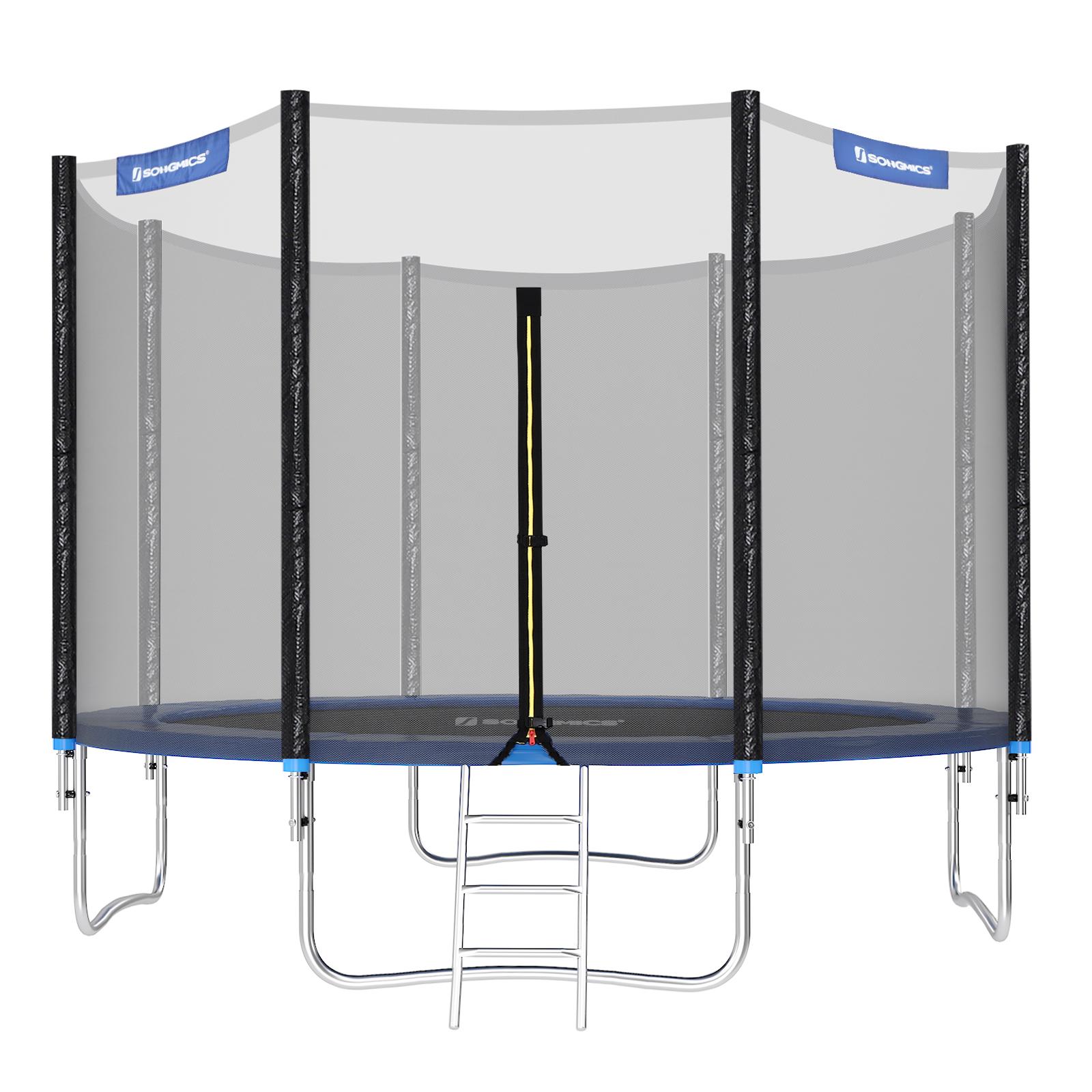 Full Size of Sonnenschutz Trampolin Songmics 366 Cm Bis 150kg Mit Real Garten Sonnenschutzfolie Fenster Innen Für Außen Wohnzimmer Sonnenschutz Trampolin