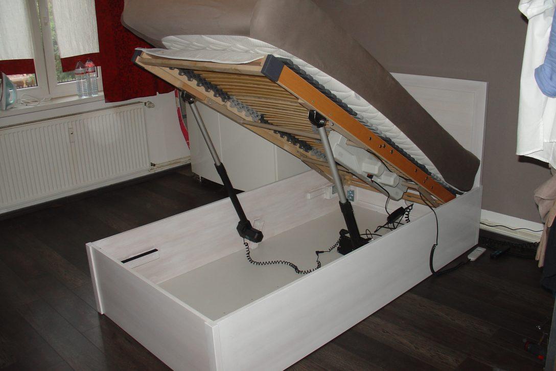 Large Size of Betten Selber Bauen Bett Mit Hubmotoren Manchmal Habe Ich Gar Nicht So Dumme Ideen Landhausstil 200x220 Bonprix Boxspring Luxus Ausgefallene 140x200 90x200 Wohnzimmer Betten Selber Bauen