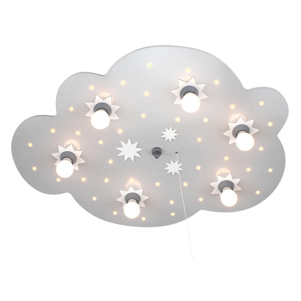 Full Size of Deckenlampen Kinderzimmer Led Schlummerlicht Sternenwolke Silber Weiss 6er Deckenlampe Wohnzimmer Modern Regal Weiß Sofa Für Regale Kinderzimmer Deckenlampen Kinderzimmer