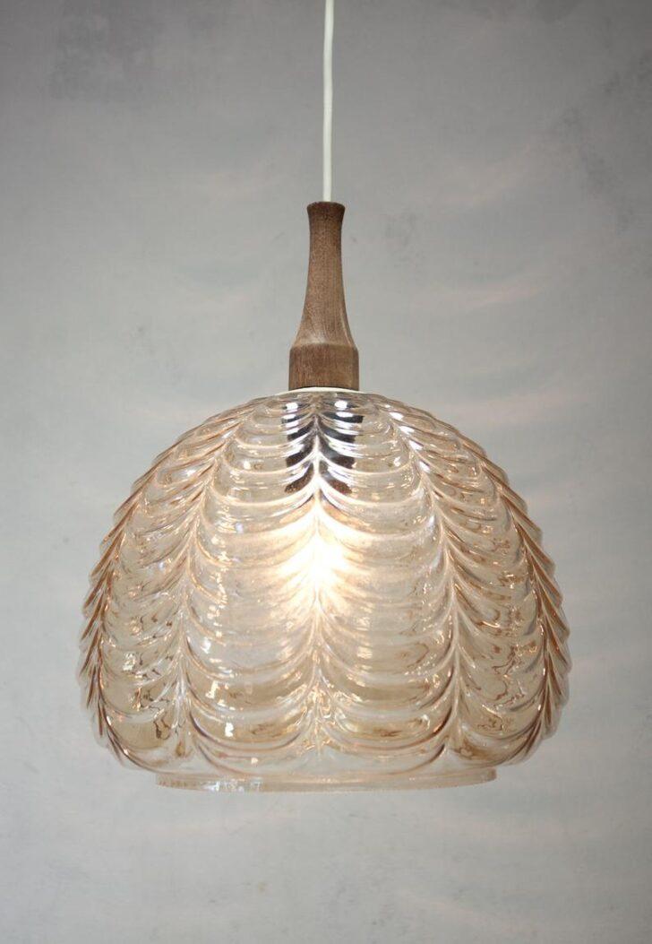 Medium Size of Design Glaslampe Hngelampe 70er Jahre Glas Ddr Veb Wohnzimmer Hängelampen