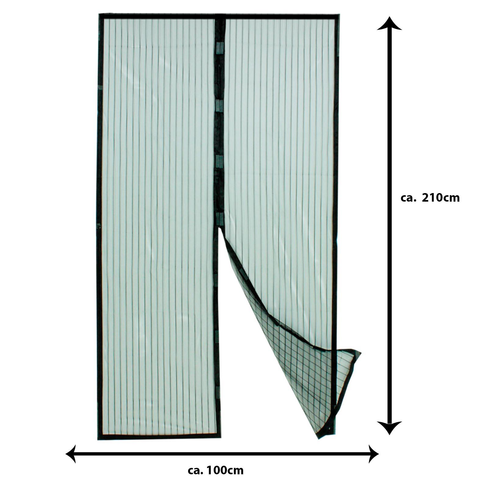 Full Size of Grafner Magnetisches Fliegengitter Trvorhang 100 210 Cm Fenster Maßanfertigung Für Magnettafel Küche Wohnzimmer Fliegengitter Magnet