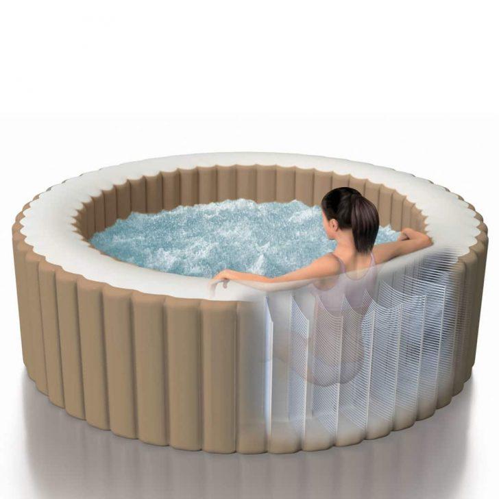 Medium Size of Whirlpool Aufblasbar Intepurespa Aufblasbarer Sprudelmassage 216 71 Cm Garten Wohnzimmer Whirlpool Aufblasbar