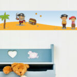 Bordüren Kinderzimmer Kinderzimmer Bordüren Kinderzimmer Dekoration Mbel Wohnen Wandkings Bunte Bordren Regale Sofa Regal Weiß