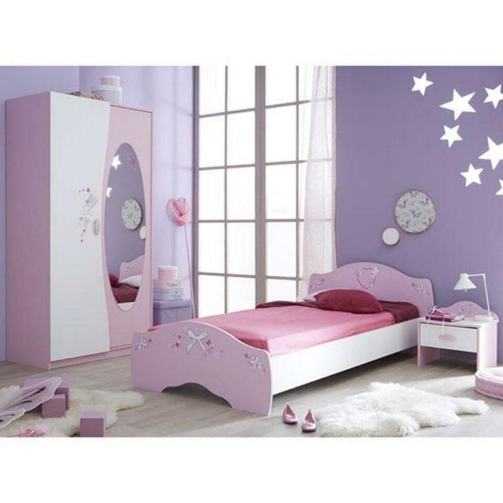 Medium Size of Kinderbett Mädchen Jugendbett Mdchen Ava 90200 Cm Rosa Wei In Bett Betten Wohnzimmer Kinderbett Mädchen