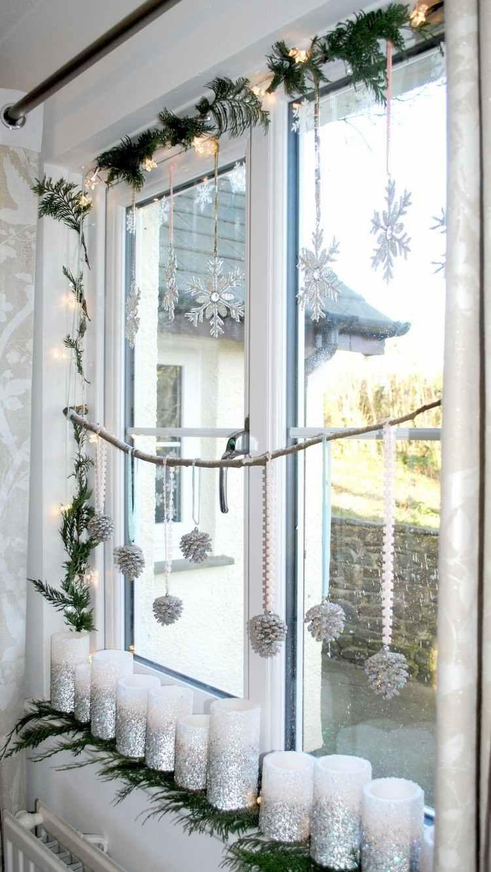 Full Size of Deko Fensterbank Weihnachtsdeko Fr Innen 39 Weihnachtliche Wohnzimmer Badezimmer Wanddeko Küche Schlafzimmer Für Dekoration Wohnzimmer Deko Fensterbank
