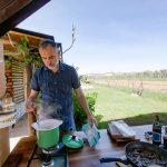 Outdoor Küche Bauen Drauen Kochen Kche Selber Wstenrot Mein Leben Bank Edelstahlküche Gebraucht Was Kostet Eine Neue Oberschrank Vorratsschrank Planen Wohnzimmer Outdoor Küche Bauen