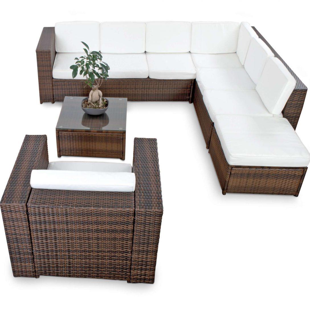 Large Size of Polyrattan Lounge Set Gnstig Kaufen Loungemöbel Garten Holz Günstig Wohnzimmer Loungemöbel Balkon
