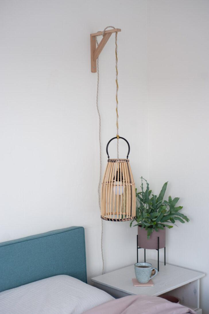 Medium Size of Hängelampen Diy Hngelampe Aus Bambuslaterne Upcyclen Wohnzimmer Hängelampen