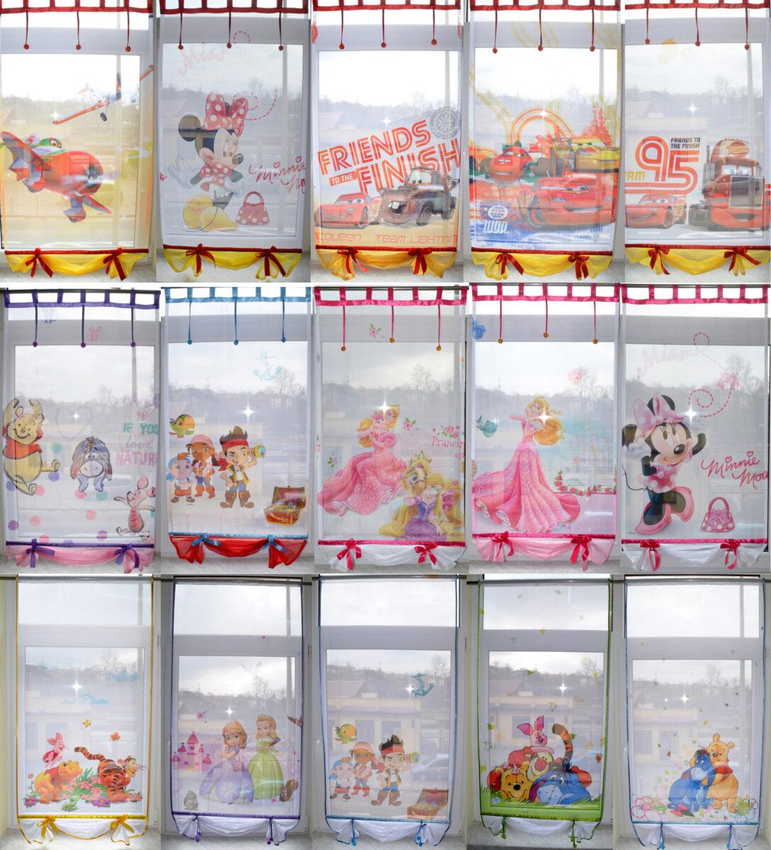 Large Size of Scheibengardinen Kinderzimmer Disney Minnie Mouse Gardine Kindergardine Baby Regal Regale Sofa Küche Weiß Kinderzimmer Scheibengardinen Kinderzimmer