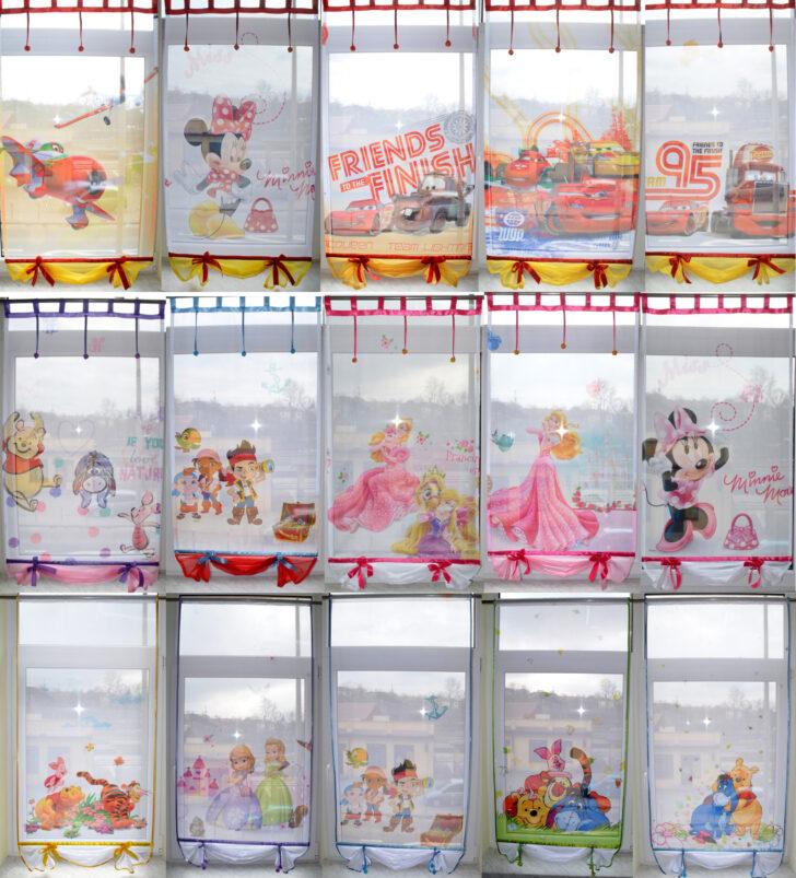 Medium Size of Scheibengardinen Kinderzimmer Disney Minnie Mouse Gardine Kindergardine Baby Regal Regale Sofa Küche Weiß Kinderzimmer Scheibengardinen Kinderzimmer