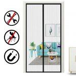 Fliegengitter Oladwolf Tr Insektenschutz 90 In Fenster Für Küche Wohnzimmer Fliegengitter Magnet