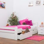 Kinderbett 120x200 Wohnzimmer Kinderbett 120x200 Bett Weiß Betten Mit Matratze Und Lattenrost Bettkasten