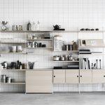 Küchen Wandregal Das Regal String Skandinavischer Purismus Zum Zusammensetzen Küche Bad Landhaus Wohnzimmer Küchen Wandregal