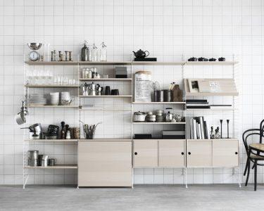 Küchen Wandregal Wohnzimmer Küchen Wandregal Das Regal String Skandinavischer Purismus Zum Zusammensetzen Küche Bad Landhaus