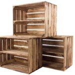 Regal Aus Kisten Selber Bauen Holzkisten Holz Ikea Kaufen 6er Set Sparpaket Geflammte Fr Schuh Kanban Schlafzimmer Esstisch Massivholz Ausziehbar Cd Regal Regal Aus Kisten