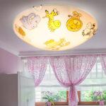 Deckenlampen Kinderzimmer Deckenleuchte Mit Tiermotiven Fr Das Etc Shop Sofa Regal Wohnzimmer Modern Für Regale Weiß Kinderzimmer Deckenlampen Kinderzimmer
