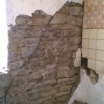 Küchenwand Wohnzimmer Küchenwand Kchenwand Schaumtapete Freigelegt
