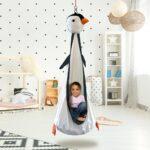 Hängesessel Kinderzimmer Kinderzimmer Pinguin Hngehhle Fr Piet Der Hängesessel Garten Regal Kinderzimmer Weiß Regale Sofa