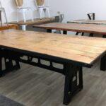 Esstisch Massiv Esszimmer Tisch Holz Mango Industrial Design Ausziehbar Grau Glas Esstische Venjakob Quadratisch Rund Weißer Kolonialstil Lampe Shabby Esstische Esstisch Massiv