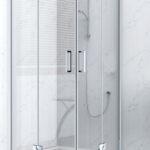 Dusche 90x90 Trendline Runddusche Easy 8 De Luxe Duschkabine Eckdusche Moderne Duschen Behindertengerechte Bodenebene Glasabtrennung Komplett Set Mischbatterie Dusche Dusche 90x90