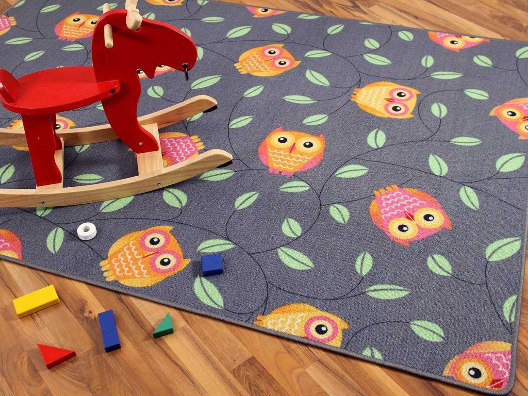 Large Size of Spielteppich Eule Grau In 24 Gren Teppiche Und Regal Kinderzimmer Regale Sofa Weiß Kinderzimmer Teppichboden Kinderzimmer