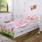 Kinderbett Mädchen Dm Weiss Mit Matratze Bettkasten Und Lattenrost Bett Betten Wohnzimmer Kinderbett Mädchen
