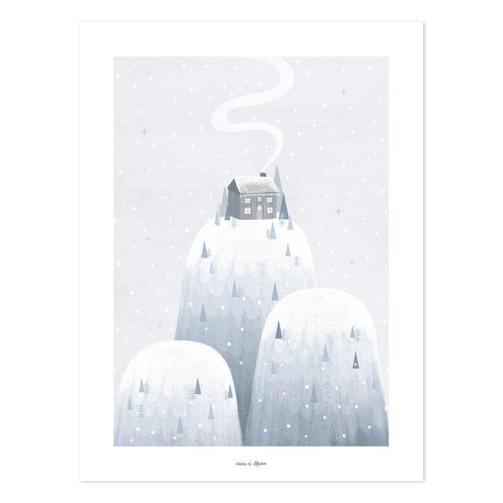 Medium Size of Bild Kinderzimmer Lilipinso Poster Arctic Berge Grau Blau 30x40cm Bei Sofa Wohnzimmer Bilder Xxl Großes Regal Glasbilder Küche Wandbild Moderne Fürs Kinderzimmer Bild Kinderzimmer