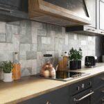 Küchenwand Feine Kermaikspitzen An Der Kchenwand Ceramika Paradyz Wohnzimmer Küchenwand