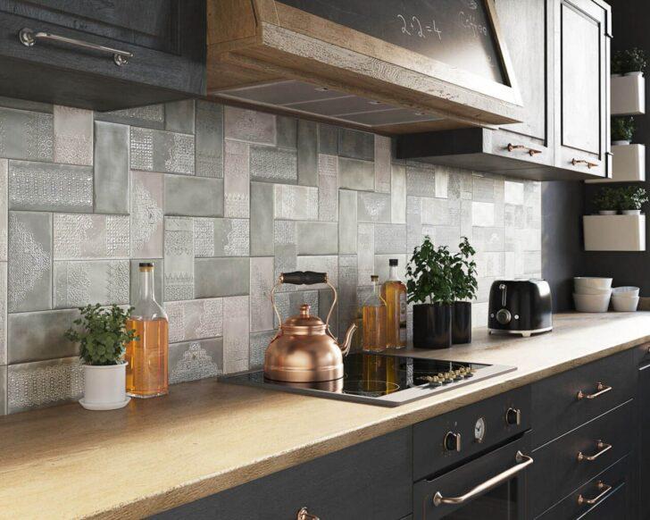 Medium Size of Küchenwand Feine Kermaikspitzen An Der Kchenwand Ceramika Paradyz Wohnzimmer Küchenwand