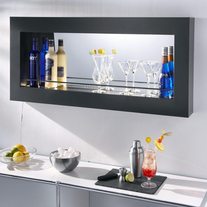 Medium Size of Küchen Wandregal Probell Encore 110 Led Als Bar Element Küche Landhaus Bad Regal Wohnzimmer Küchen Wandregal