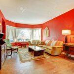 Groe Rote Wohnzimmer Mit Parkett Und Antike Mbel Lampen Hängeleuchte Led Heizkörper Teppiche Wandtattoo Für Liege Vorhänge Wohnzimmer Lampen Wohnzimmer
