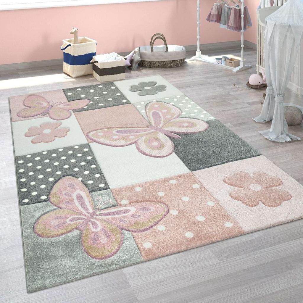Full Size of Teppich Kinderzimmer Bunt Rosa Schmetterlinge Real Regal Sofa Weiß Wohnzimmer Teppiche Regale Kinderzimmer Teppiche Kinderzimmer
