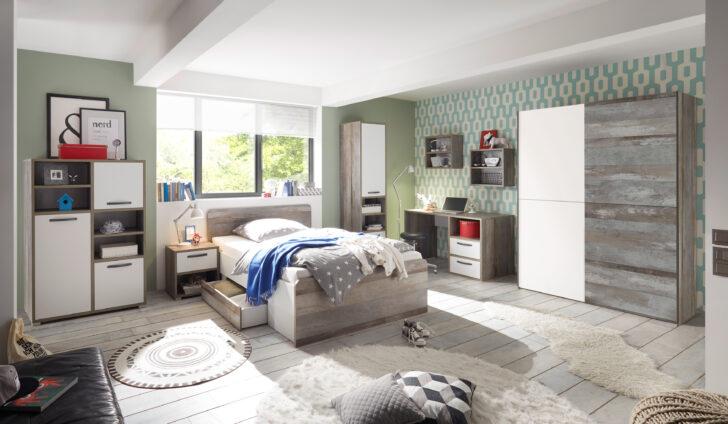 Medium Size of Kinderzimmer Moon Jugendzimmer Komplett Set 7tlg Stschrank Bett Schlafzimmer Mit Lattenrost Und Matratze Wohnzimmer Regal Günstige Regale Günstig Guenstig Kinderzimmer Komplett Kinderzimmer