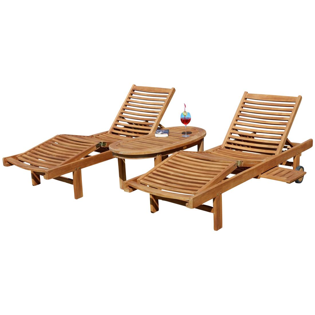 Full Size of Liegestuhl Holz 2hochwertige Teak Sonnenliege Gartenliege Strandliege Esstisch Massivholz Ausziehbar Bett Küche Modern Betten Holzbank Garten Sichtschutz Wohnzimmer Liegestuhl Holz
