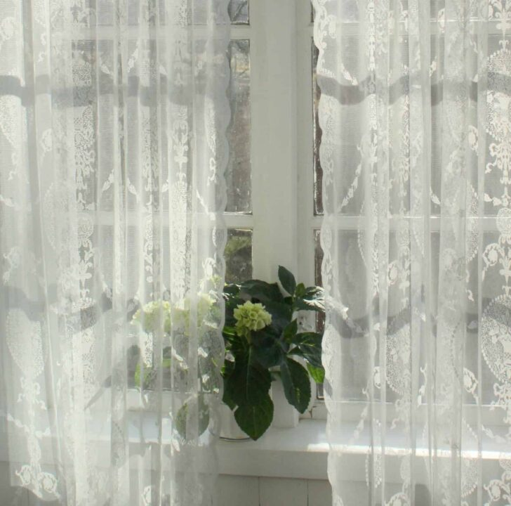 Medium Size of Landhaus Gardinen Vorhang Avery Offwhite Spitzen Gardine Shabby Wohnzimmer Landhausküche Weiß Küche Weisse Gebraucht Schlafzimmer Landhausstil Wohnzimmer Landhaus Gardinen