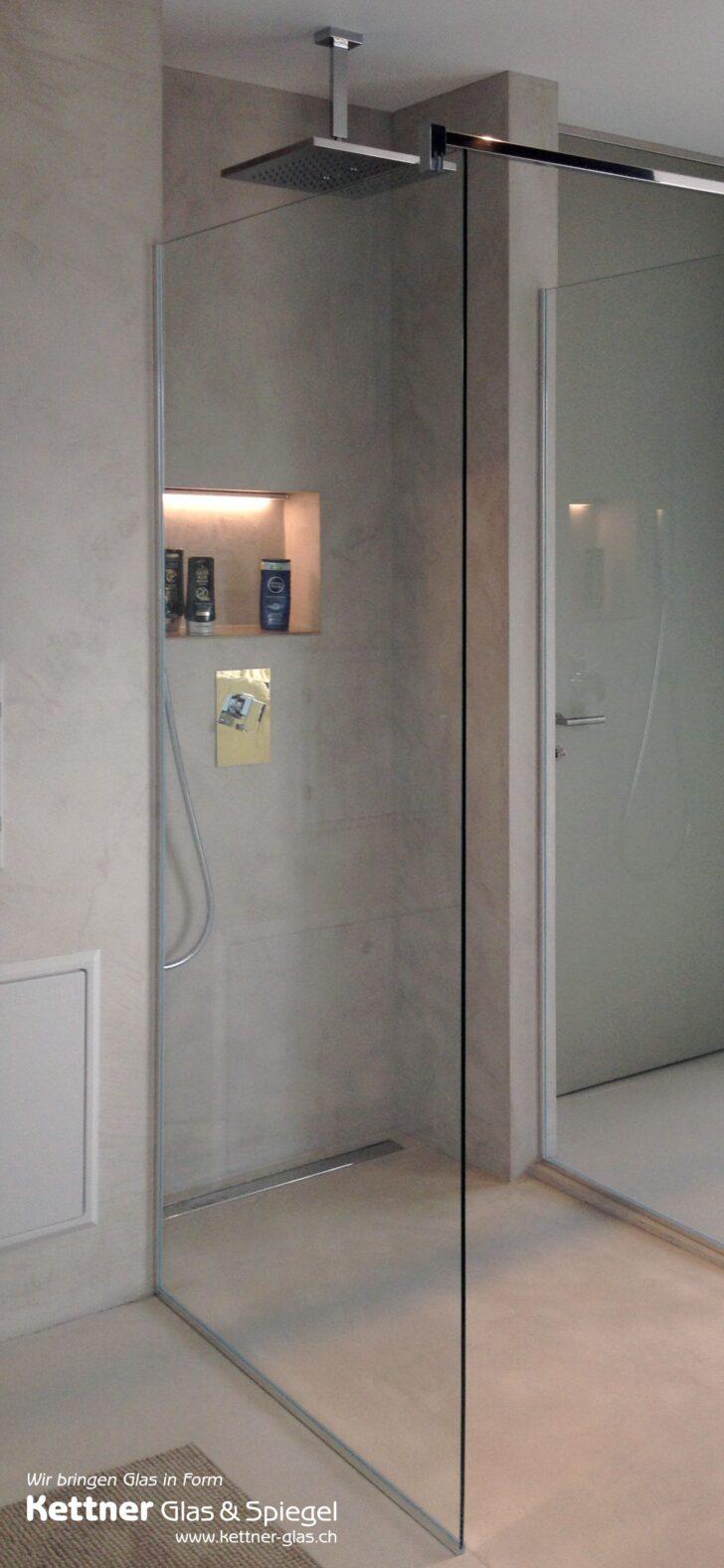 Medium Size of Glastrennwand Dusche Glasduschwand Mit Schlichter Moderne Duschen Unterputz Armatur Eckeinstieg Schiebetür Sprinz Begehbare Fliesen Glasabtrennung Badewanne Dusche Glastrennwand Dusche