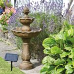 Gartenbrunnen Solar Wohnzimmer Gartenbrunnen Solar Vogeltrnke Und Brunnen Ohne Verkabelung Betriebskosten