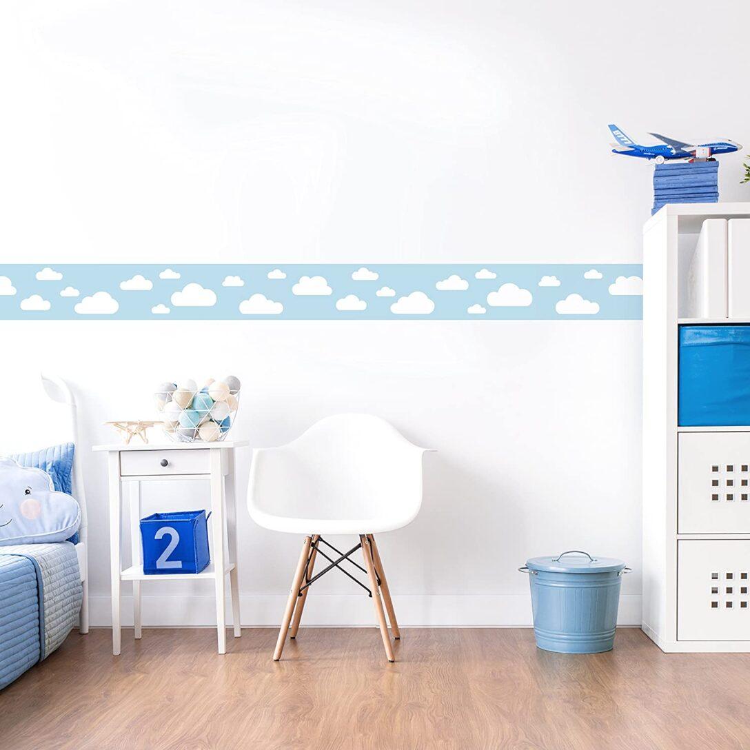 Large Size of Lovely Label Bordre Selbstklebend Wolken Blau Wandbordre Sofa Kinderzimmer Regal Weiß Regale Kinderzimmer Bordüren Kinderzimmer