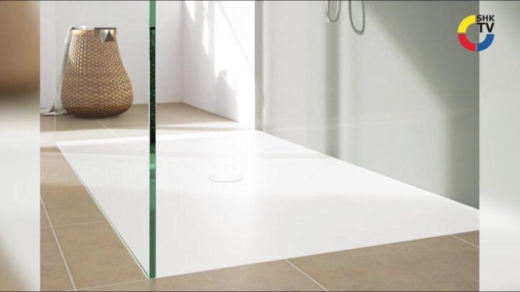 Medium Size of Kaldewei Bodenebene Duschen Youtube Begehbare Schulte Werksverkauf Nischentür Dusche Hüppe Unterputz Sprinz Glasabtrennung Kaufen Barrierefreie 90x90 Dusche Bodenebene Dusche