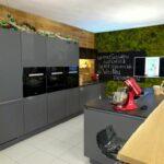 Wandgestaltung Küche Wohnzimmer Wandgestaltung Küche Lampen Wasserhahn Für Zusammenstellen Modulküche Ikea Mit Theke Büroküche Bauen Industrielook Anrichte Vorratsdosen Singelküche