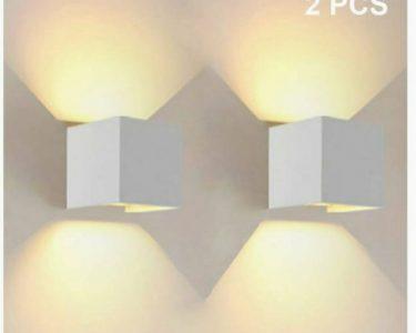 Designer Lampen Wohnzimmer Designer Lampen Led 2 Stck Leuchten Wei Alu Neu In Nordrhein Wohnzimmer Regale Esstisch Deckenlampen Modern Bad Esstische Stehlampen