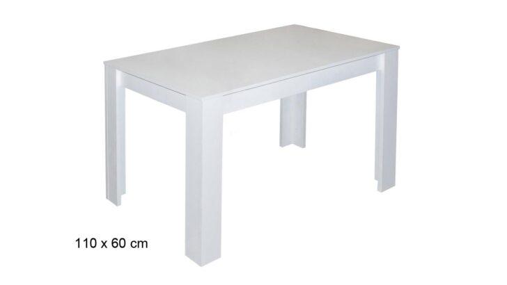 Medium Size of Esstisch Pit Kchentisch Tisch In Wei Matt 110x60 Cm Sofa Modern Hängeschrank Weiß Hochglanz Wohnzimmer Runder Bett 140x200 Kleiner Küche Lampen Weißer Esstische Kleiner Esstisch Weiß