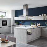 Küchenwand Wohnzimmer Küchenwand Kche Betonoptik Holzboden Kaufen Kchenwand Dunkel Einbaukche