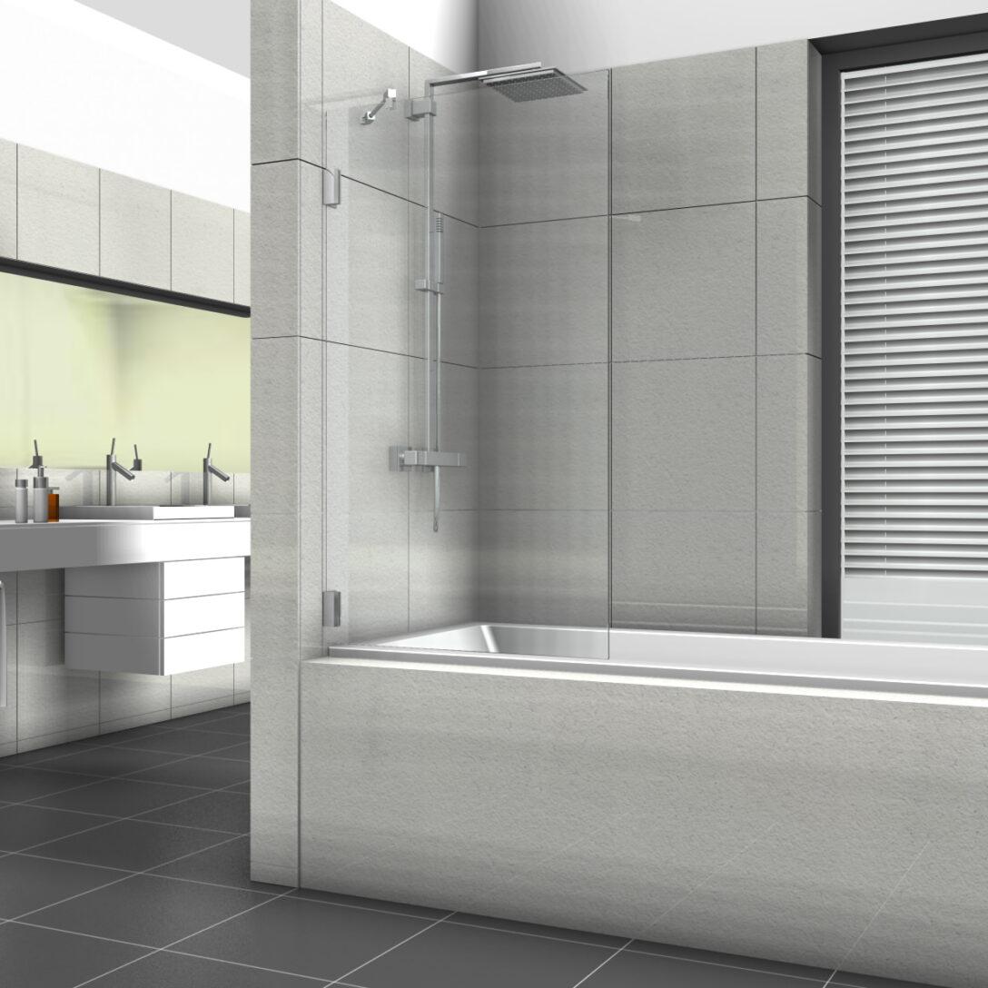 Large Size of Glastrennwand Dusche Badewannenaufsatz Mit Feststehender Glaswand Grohe Thermostat Hsk Duschen Breuer Bodengleiche Nachträglich Einbauen Mischbatterie Dusche Glastrennwand Dusche