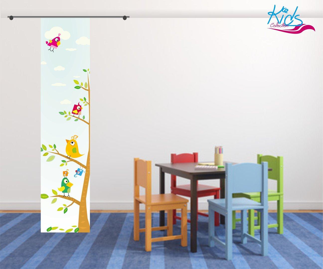 Full Size of Kinderzimmer Vorhang Flchenvorhang Kids Baum Toller Top Regal Weiß Küche Sofa Regale Bad Wohnzimmer Kinderzimmer Kinderzimmer Vorhang