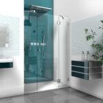 Dusche Nischentür Dusche Dusche Nischentür Bodengleich Badewanne Unterputz Armatur Eckeinstieg Begehbare Fliesen Rainshower Ebenerdige Bodengleiche Behindertengerechte Schulte Duschen
