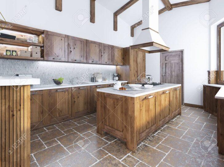 Medium Size of Kücheninsel Kche Im Loft Stil Kcheninsel Mit Einer Kapuze Ber Sie Wohnzimmer Kücheninsel